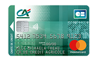 Carte Mastercard Cartwin Credit Agricole