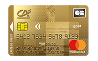 Carte Gold Mastercard Cartwin Credit Agricole